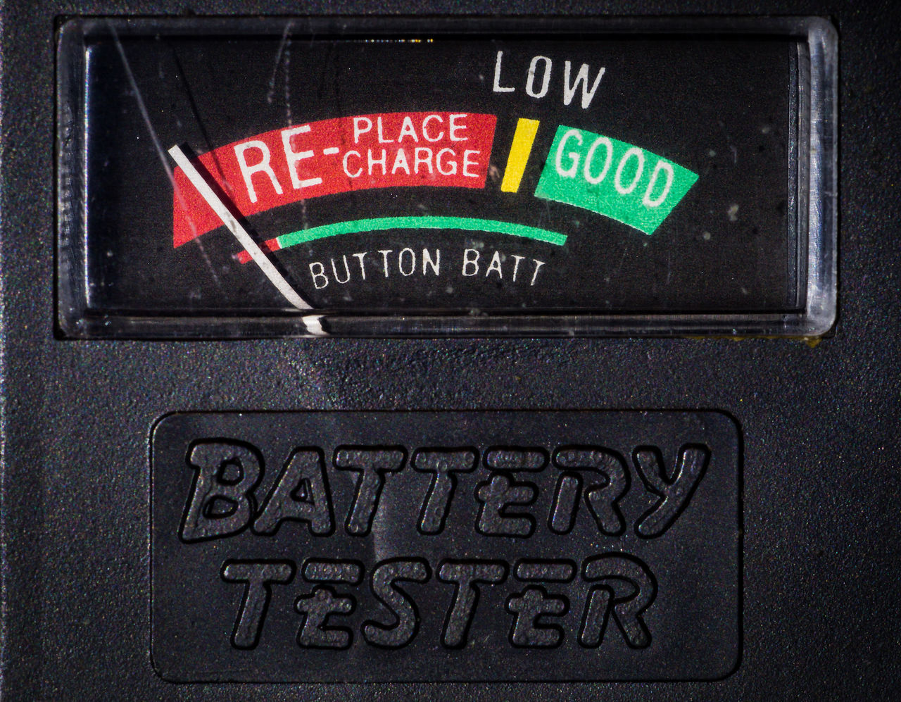 Battery Tester Close-up Communication Low Energy Meter - Instrument Of Measurement No People Technology Text