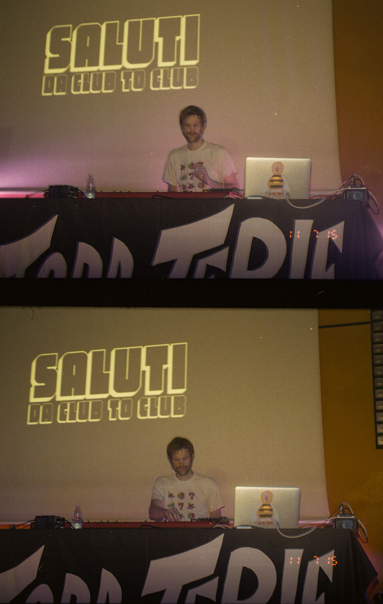 Todd Terje 35mm Arts Culture And Entertainment City Life Cub2club Glowing Half Frame Camera Indoors  Italy Music Night Torino Yashica Yashica Samurai