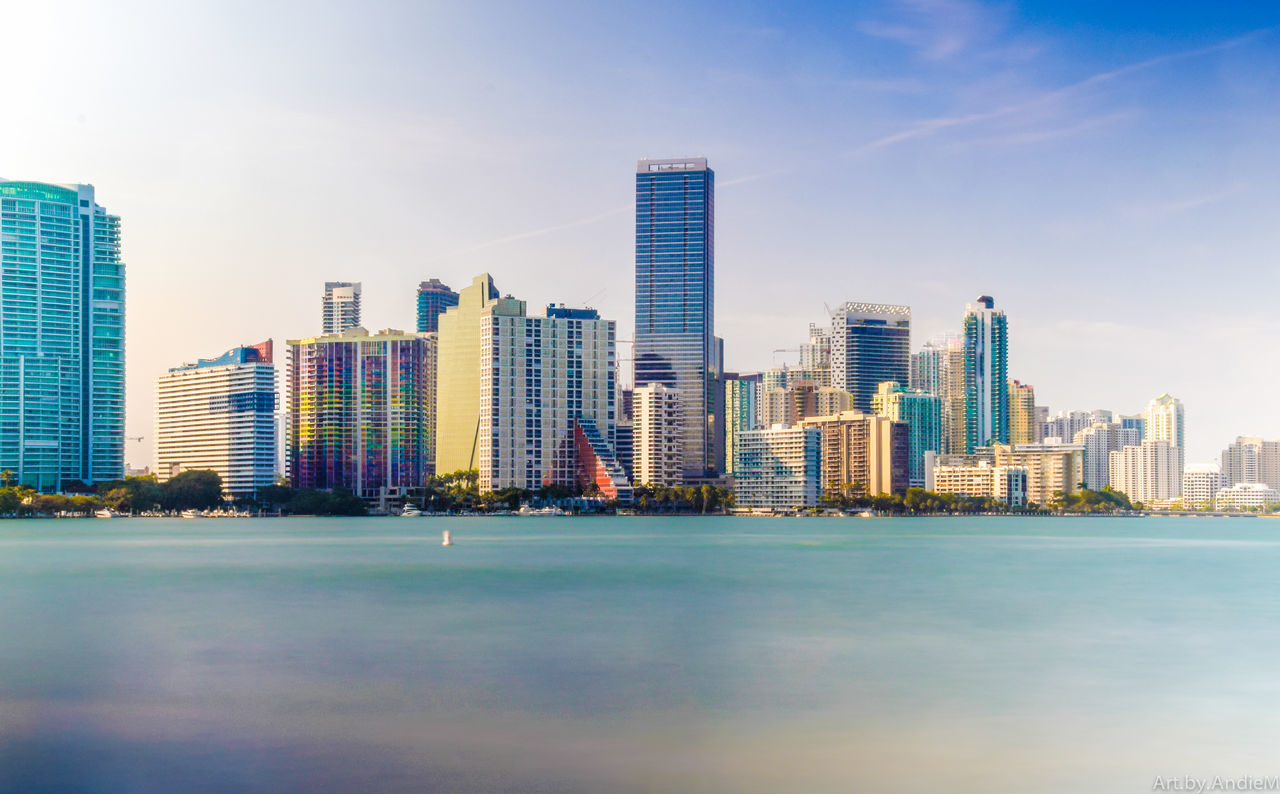Beautiful stock photos of miami,  Architecture,  Building Exterior,  Built Structure,  Business