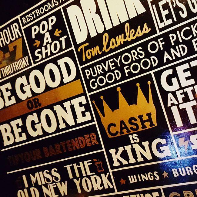 I haven't taken anything seriously since 1918. Wall Art Oldnewyork Artdeco Vintage Cash Is King GetAfterIt New York NYC Artdecostyle Brooklyn Streetart Interpret