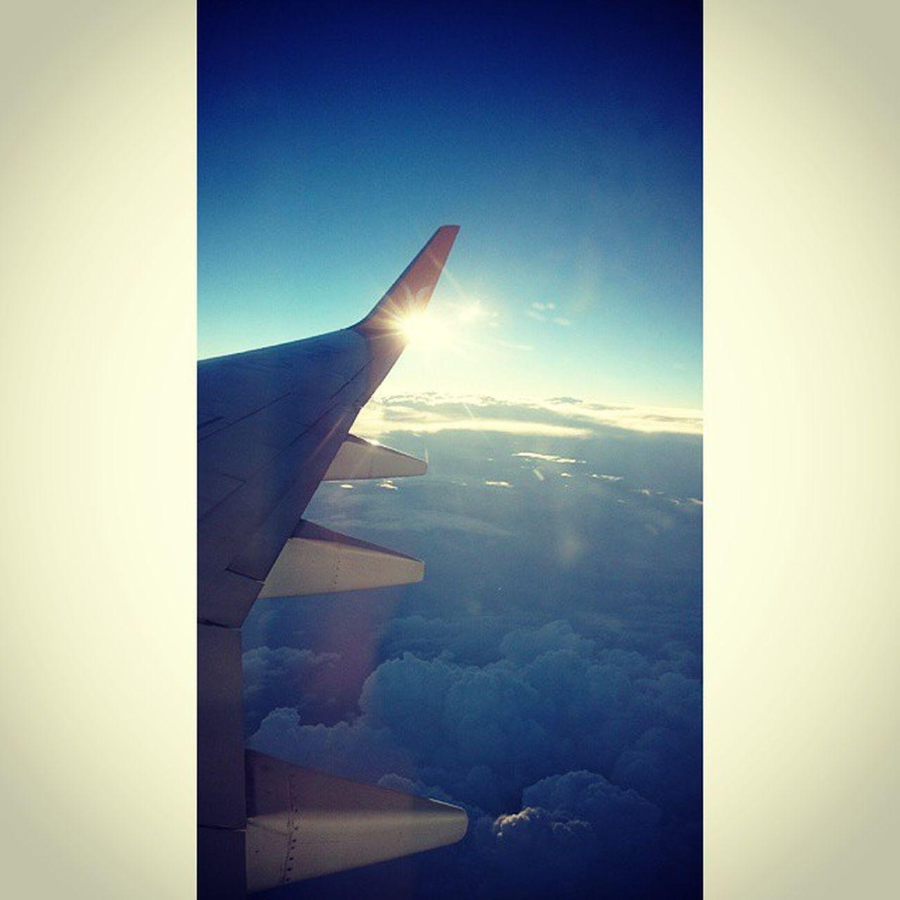Amazing Sight Landscape Flight clouds