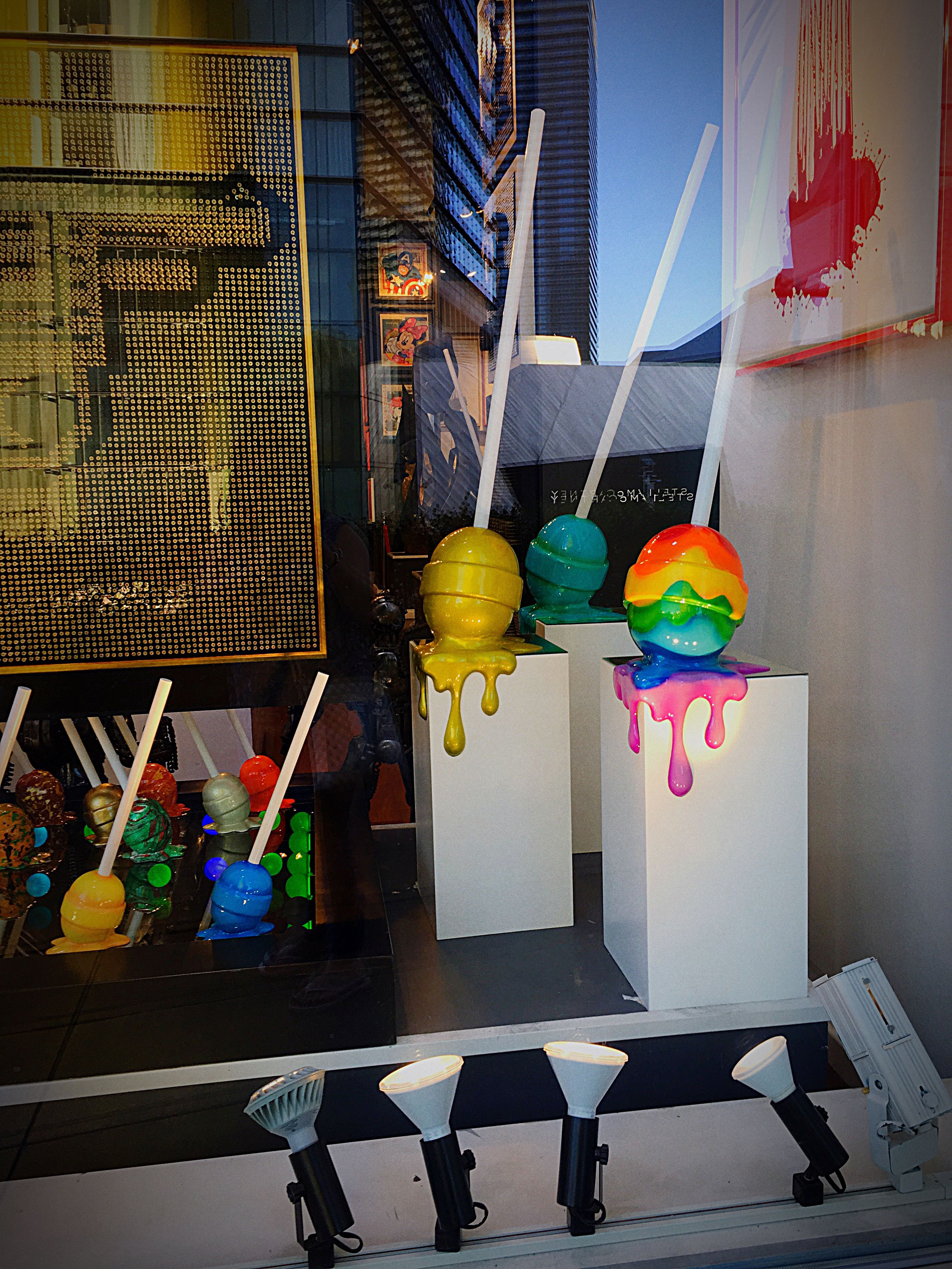 multi colored, colorful, variation, group of objects, collection, day, outdoors, hobbies, yellow color, large group of objects, no people, colors