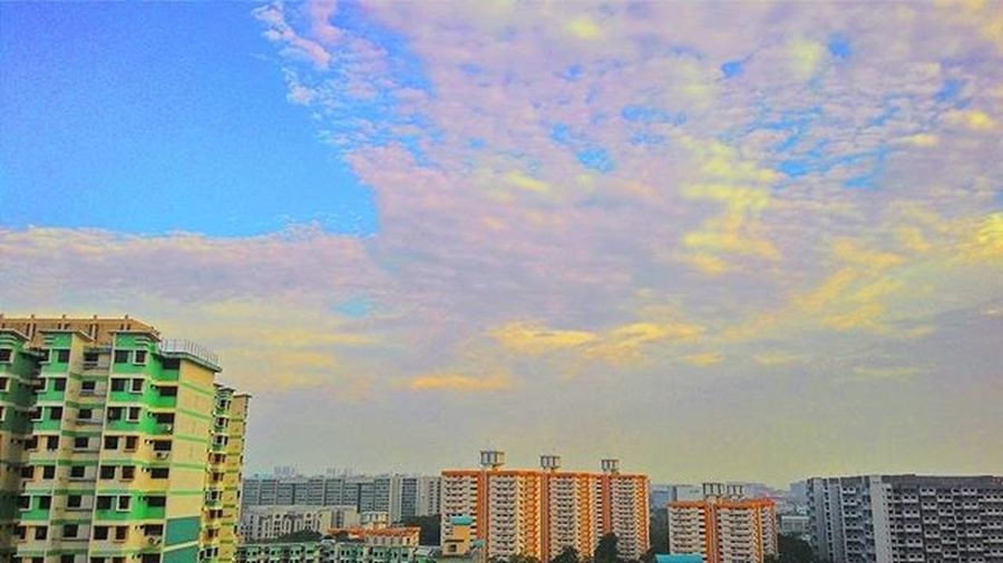 The Sky was our limit. Now, it is just a step to more limitless explorations. Architecture VisualArt  Nature Rooftop Sky Limitless Inspiration Development Instagood Singapore Neighborhood
