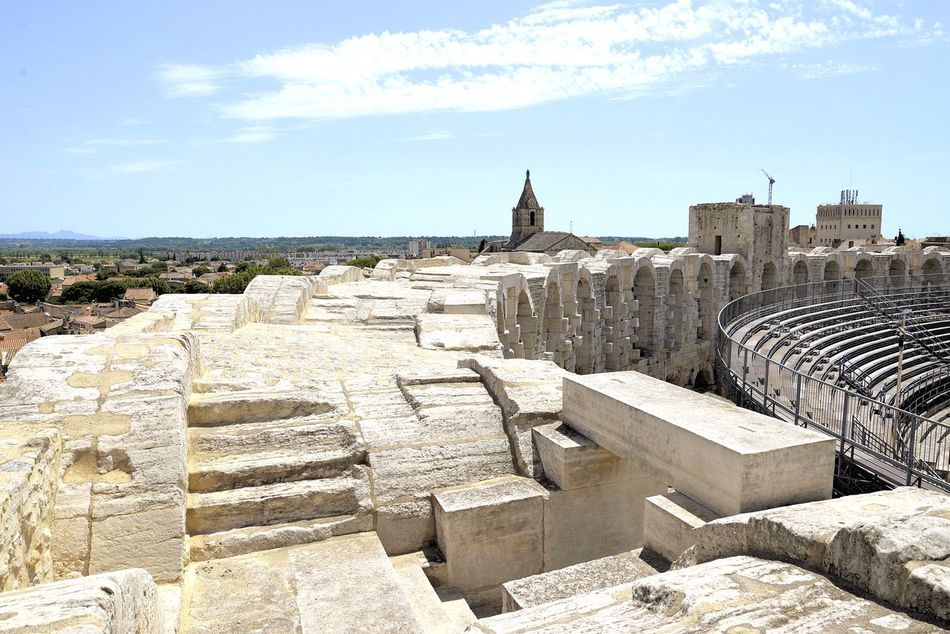 France 🇫🇷 Arles Provence Arena Summer Feelings  Architecture Holidays ☀ Enjoying Life Hanging Out Everyday Joy Relaxing