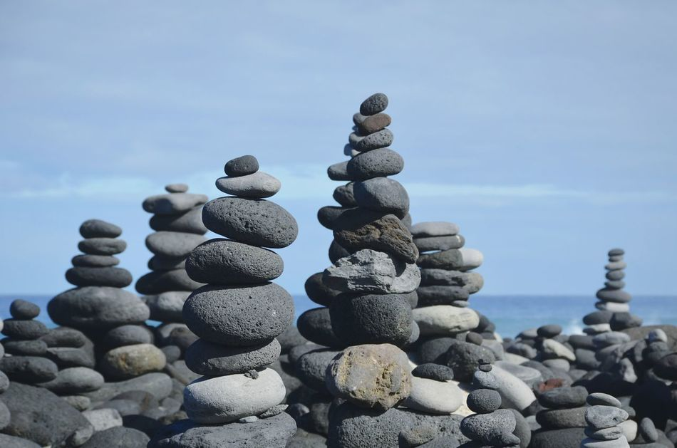 Stack Pebble Stability Rock - Object Large Group Of Objects Beach Nature No People Sky Outdoors Day Eye4photography  Tranquility Eye4photography  Shootermag EyeEm Masterclass Beauty In Nature