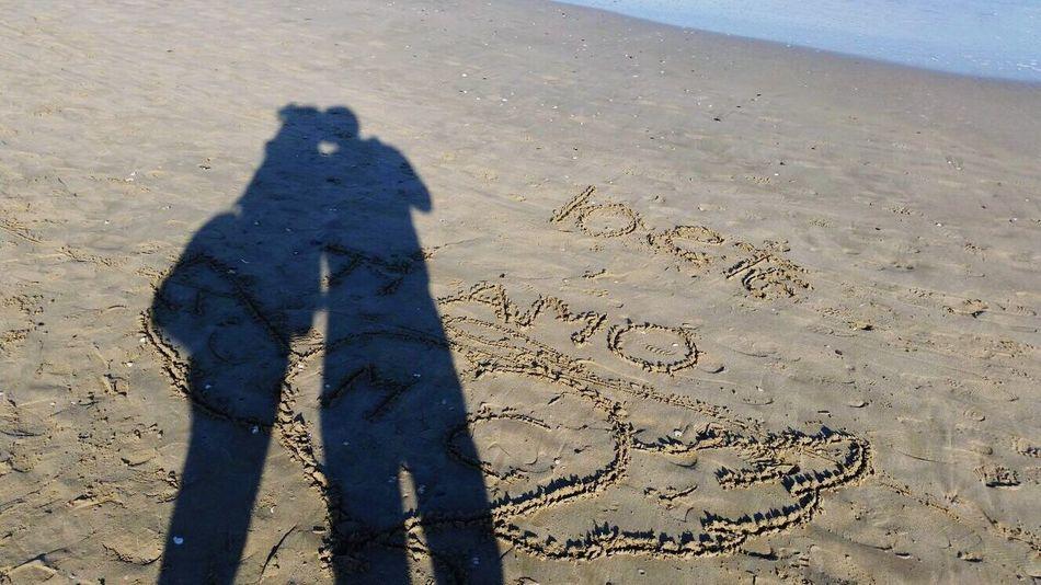 Love Ti Amo Scritta Spiaggia