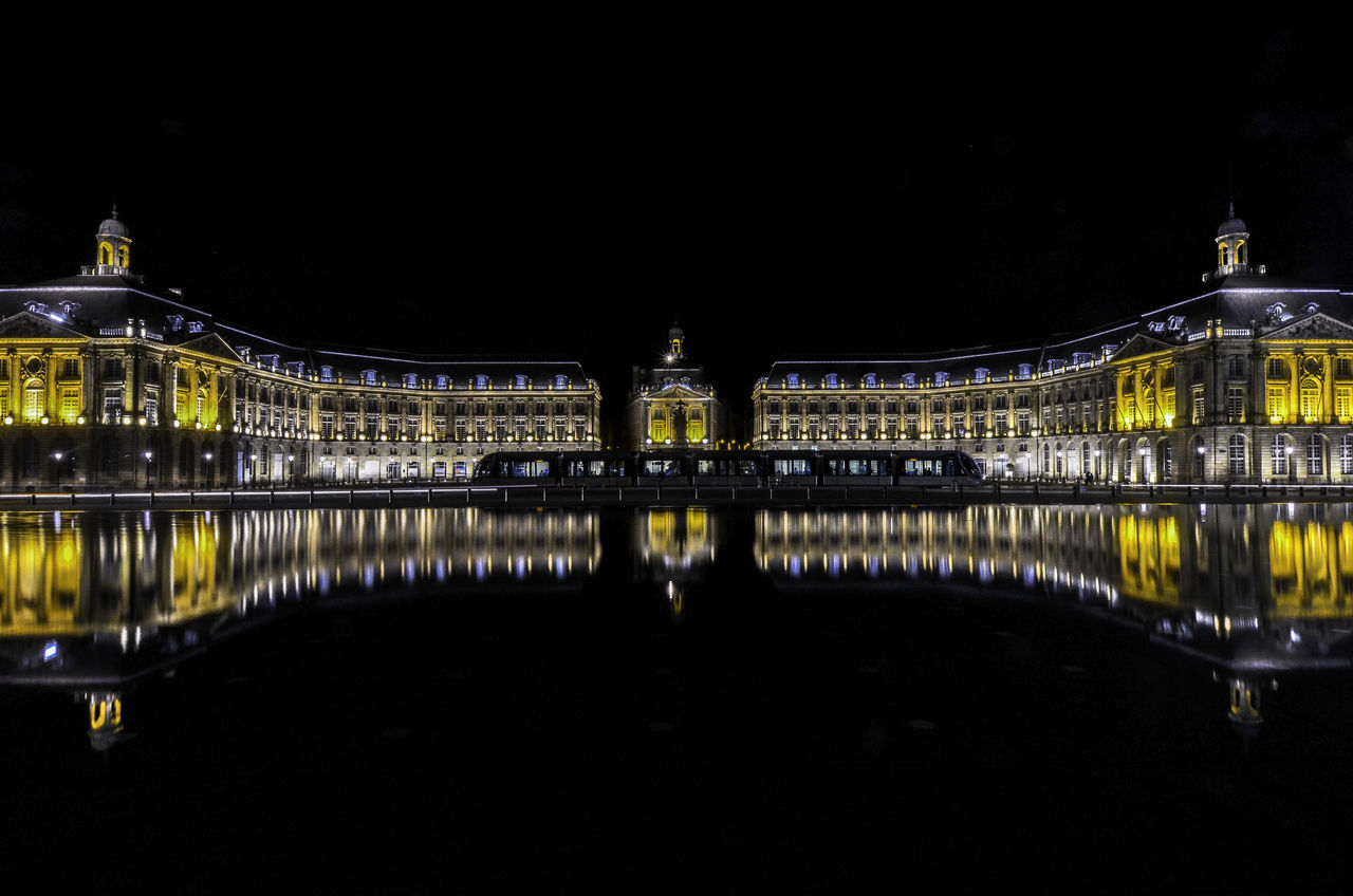 Water Mirror | Miroir d'Eau - World Heritage Site by Unesco Architecture Bordeaux Capital Cities  City France Mirror City Night Place De La Bourse Reflection UNESCO World Heritage Site Water Waterfront