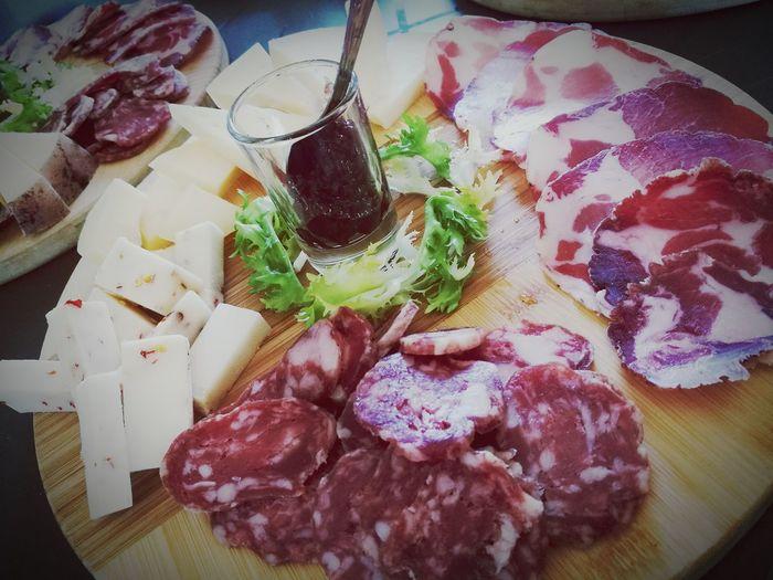 Slow Food Tradition Capocollo E Formaggio Quality Food
