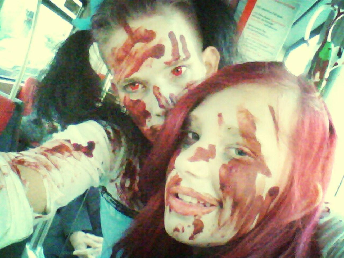 Zombiewalk Hello World