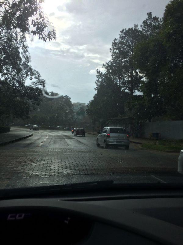 Car Rain Transit UFJF Juiz De Fora Brasil ♥