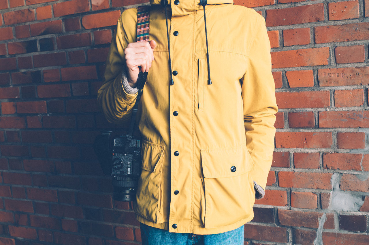 Beautiful stock photos of schule, Brick Wall, Casual Clothing, Day, Hood - Clothing