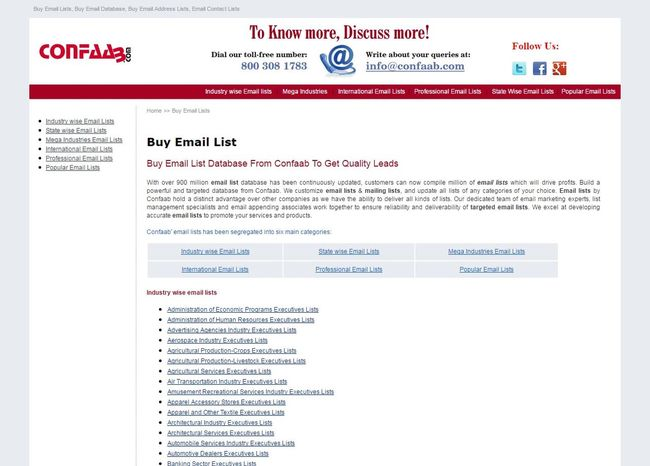 Get mailing list provider from Confaab.com Confaab Email Address List Email List Mailing Lists First Eyeem Photo