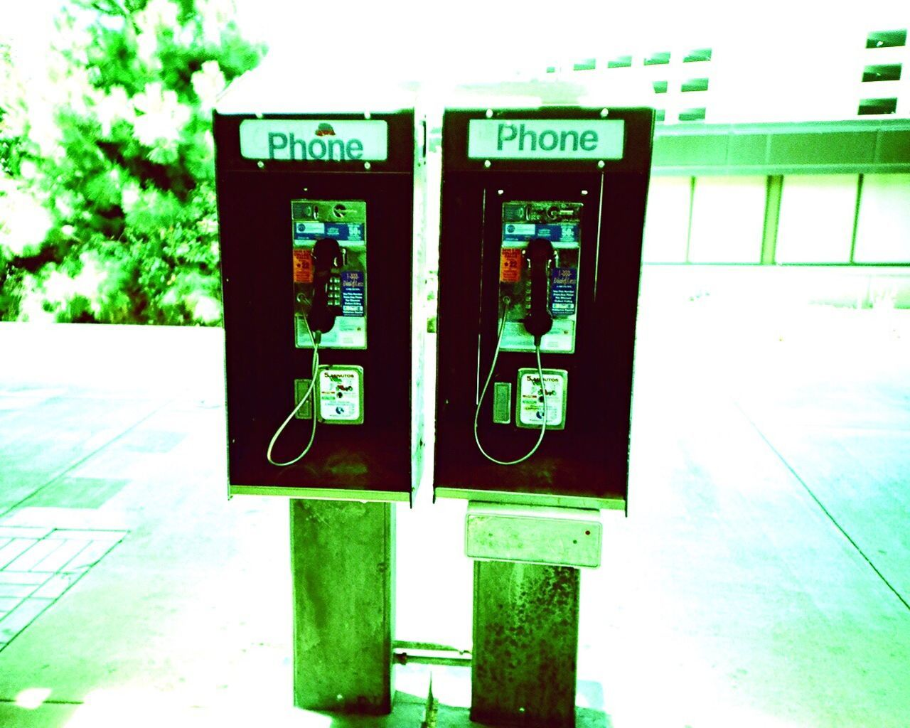 Pay Phone Outdoors Telecommunications Equipment Koduckgirl Film Film Photography Xpro Film