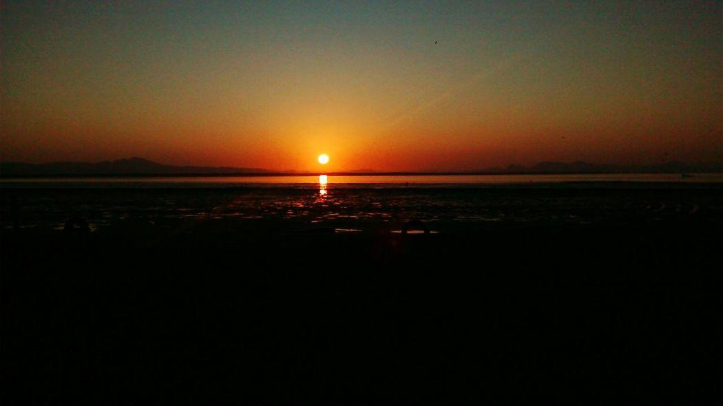 Sun Morning Orange Sun