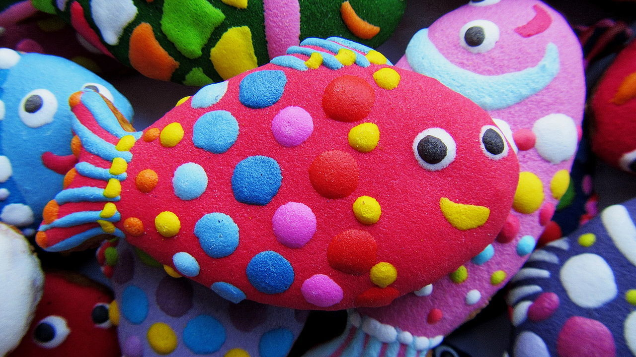 Cookie in THE shape of fish Baking Cookies Birthday Cake Birthday Party Cartoon Child Children's Birthday Christmas Cookie Close-up Colorful Cake Cookies Day Decorative Cakes Fish Fish Market Gingerbread Fish Handicrafts Homemade Food Indoors  Multi Colored No People Sweet Food Unique Perspectives Variation Very Tasty