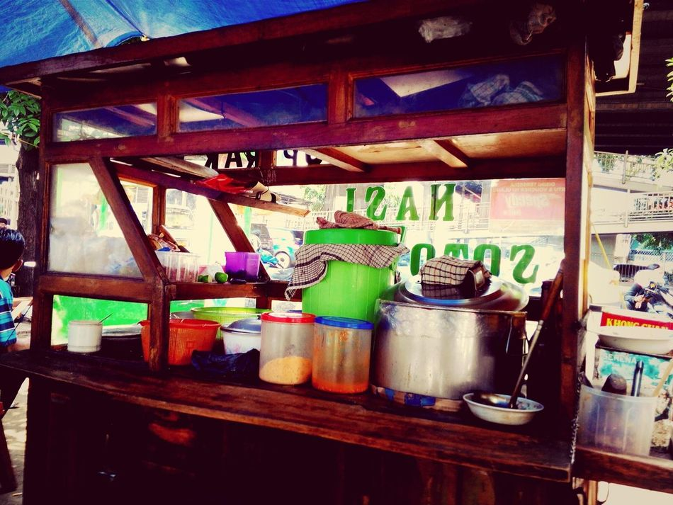 Soto Ayam Gerobak Indonesian Food Street Photography