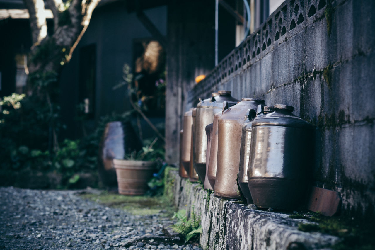 Country Life Day Focus On Foreground Japan Japan Photography Jar No People Outdoors Spring Summer Ward
