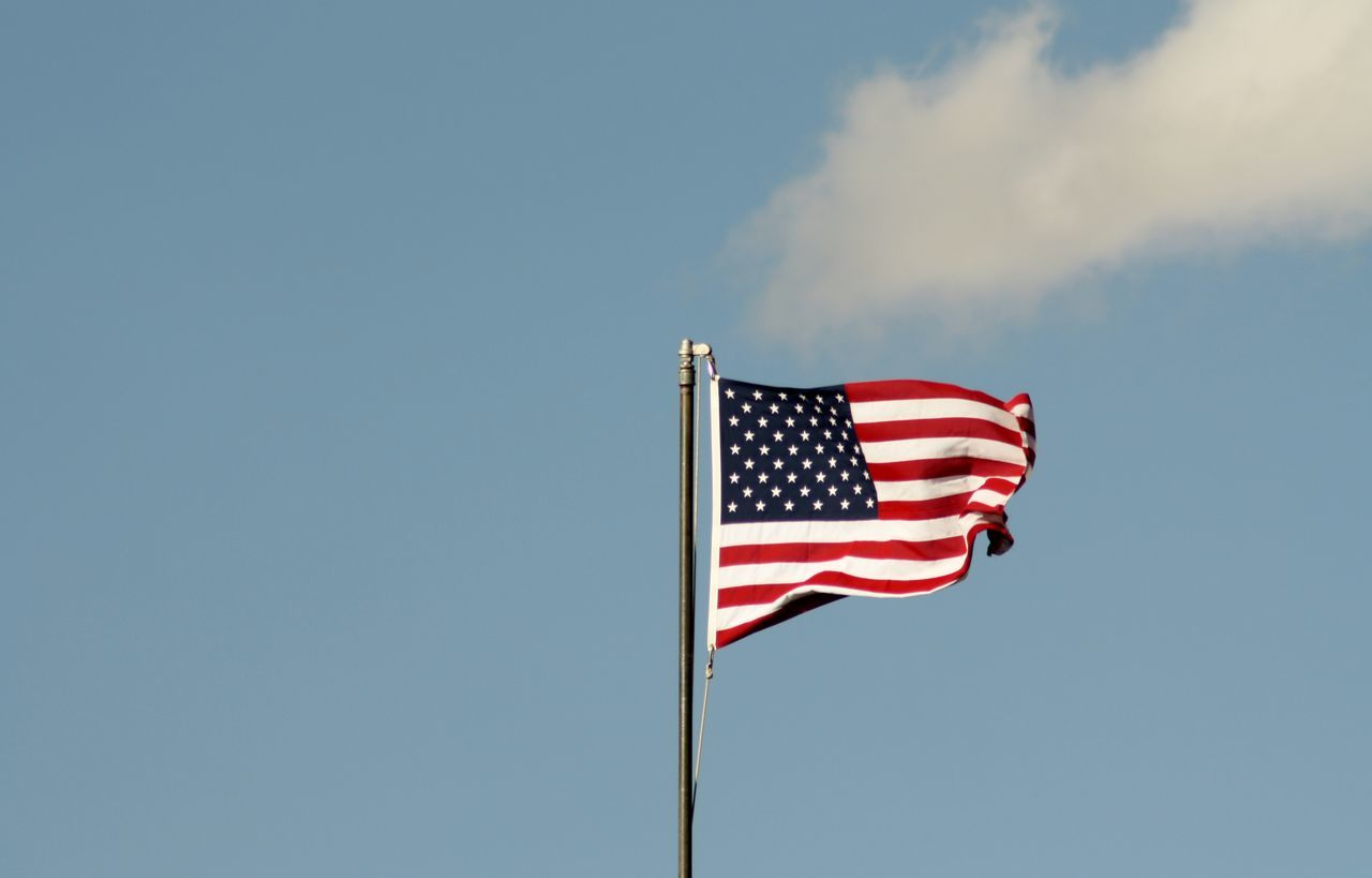 Beautiful stock photos of american flag, American Culture, American Flag, Blue, Copy Space