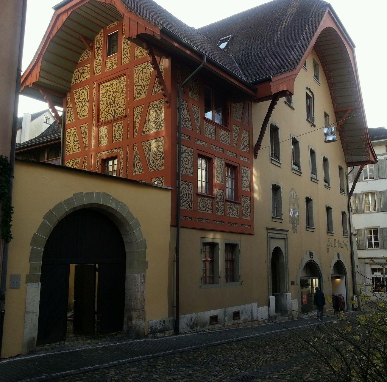 Zofingen Architecture Old Architecture
