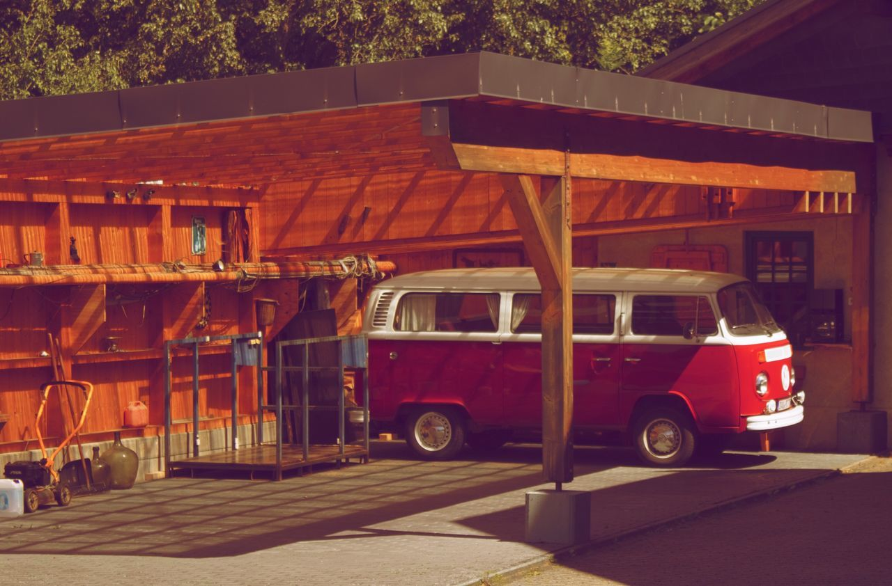 Transportation Outdoors Land Vehicle Mode Of Transport Architecture No People VW Volkswagenbus