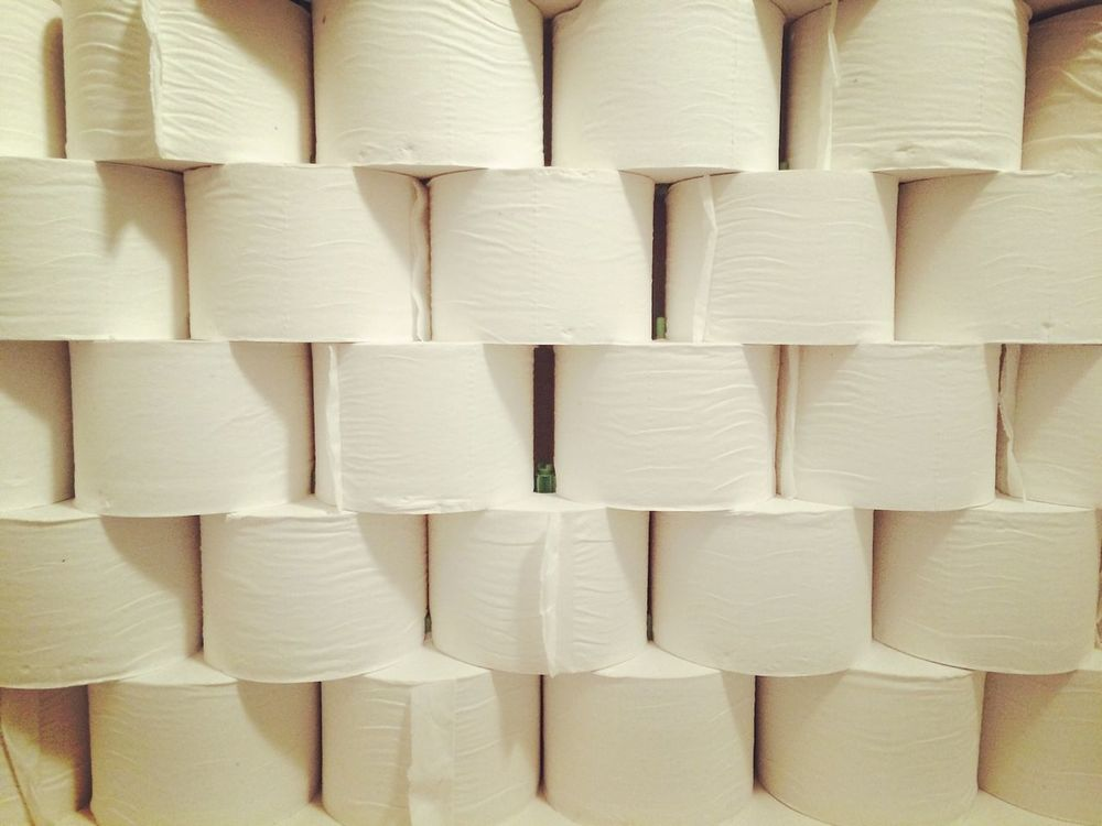 Toilet Toilette Art Toiletpaper Paper Minimal Photocuba Osservare Puntidivista White Cesso Mosaic Visionary Wall Bianco White Background Bathroom Style ✌ Paper Art Art Wall Textures