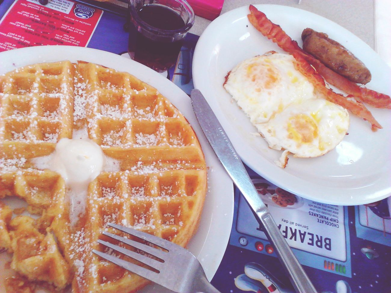 Foodporn Denny's Love Waffles Brakfasttime Jummy Mobile Love Check This Out Enjoying Life