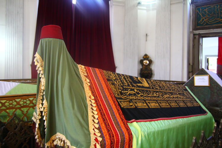 Abdulhamid Casual Clothing Cultures Graveyard Ottoman Sultan Temple - Building Tomb
