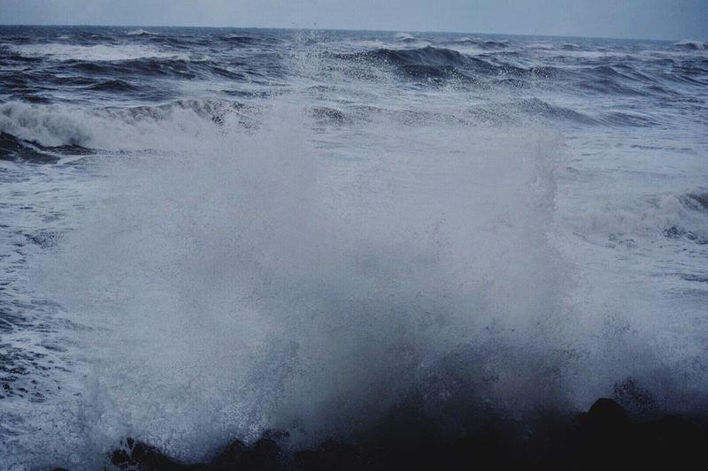飛沫 Nature Beauty In Nature Water Sea Scenics Tranquility No People