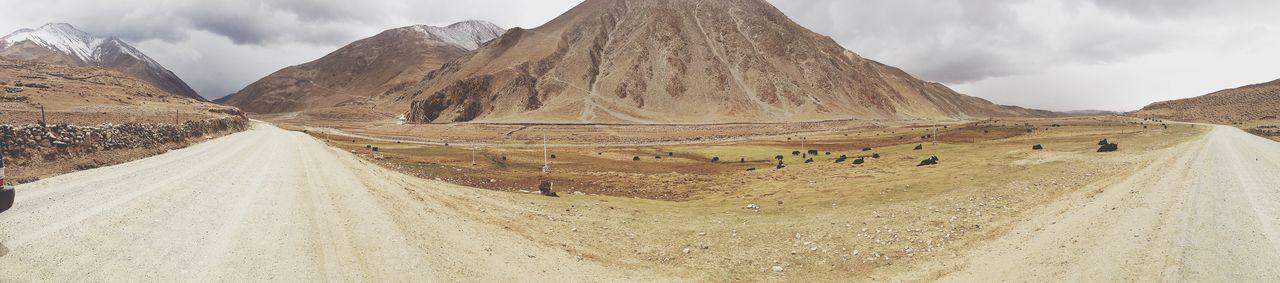Tibet. Road