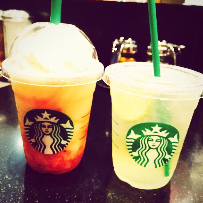 美味しかった~ 桃最高💓💓 スタバ Starbucks 新作