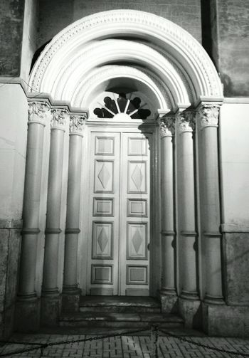 Open the door Architecture Door History Built Structure No People Arch Architectural Column Building Exterior Day Outdoors