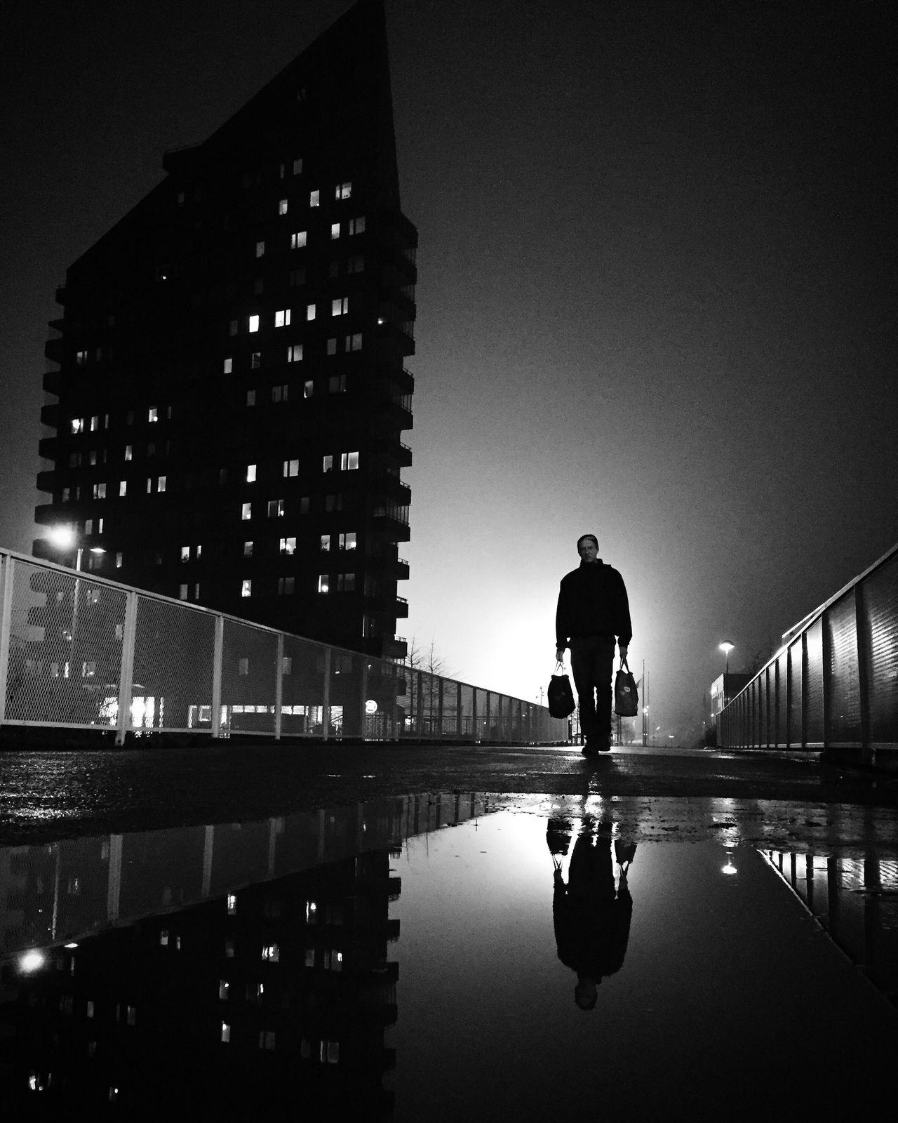 Reflection Architecture City Shootermag Bw_collection Street Photography Darkness And Light City Monochrome Black And White