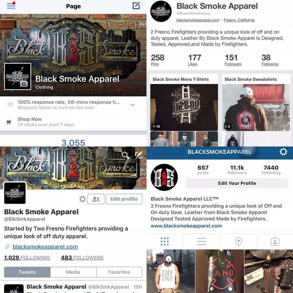 Follow us! PINTEREST - @BlackSmokeApp TWITTER - @BlkSmkApparel FACEBOOK - Black Smoke Apparel INSTAGRAM- BlackSmokeApparel EYEEM - @BlackSmokeApparel PERISCOPE- BlkSmkApparel and Check out our website at www.blacksmokeapparel.com Stay Safe and Stay Below The Smoke ™ .... Fresno Glove Strap Fresno  Fire Smoke Showing Firefighter Swag Black Smoke Black Smoke Apparel Fitted Radio Strap FF Brotherhood Firefighter