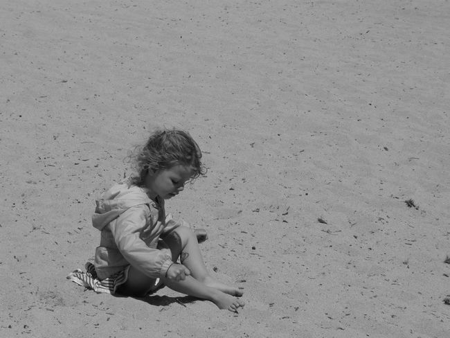 Babygirl Black & White Summer ☀ Sand Beach