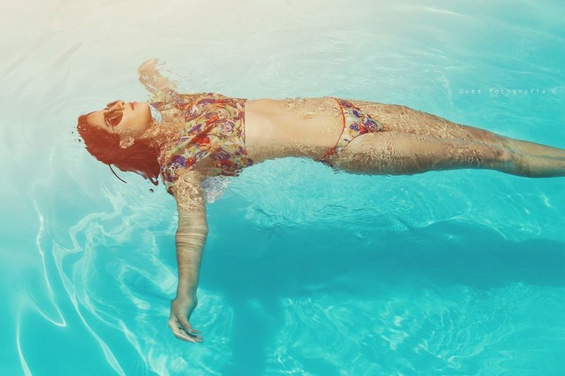 @swimmingsuit Swimming Pool Swimming Only Women One Woman Only One Person Adults Only Water Swimwear Summer Bikini Vacations People Adult Underwater One Young Woman Only Women Young Adult Young Women Day Outdoors