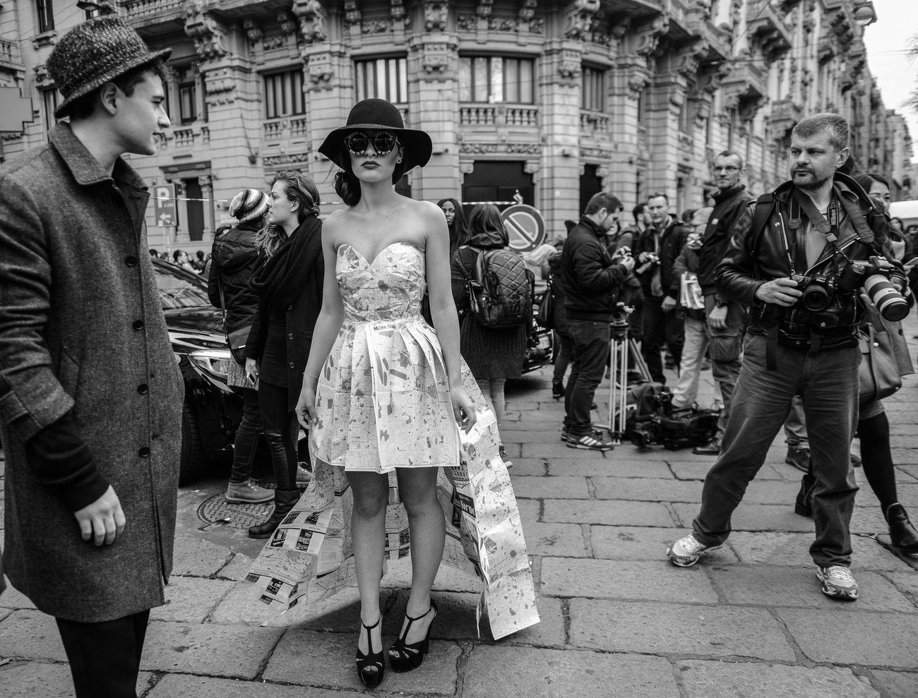 My Unique Style Mfw Milanofashionweek Fashion Week Streetphoto_bw Streetphotography Street Fashion