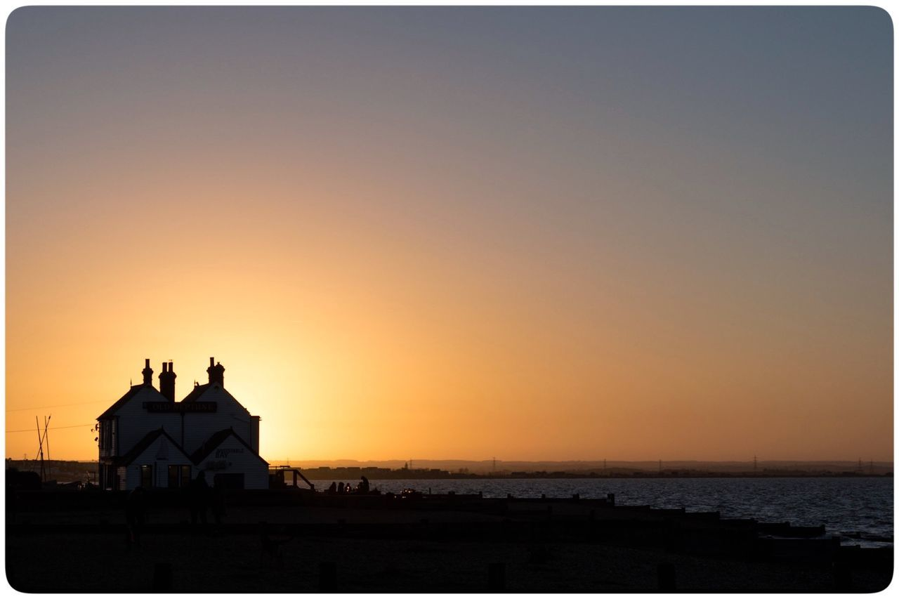 Beach Neppy Old Nept Photography Sea Sillouette Sky Sunset Water Whitstable