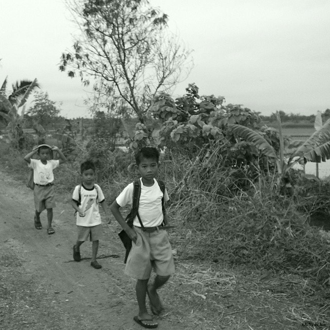Walk to school. Bulakenyo BulacanBulacan Philippines Photooftheday @photosharingcommunity