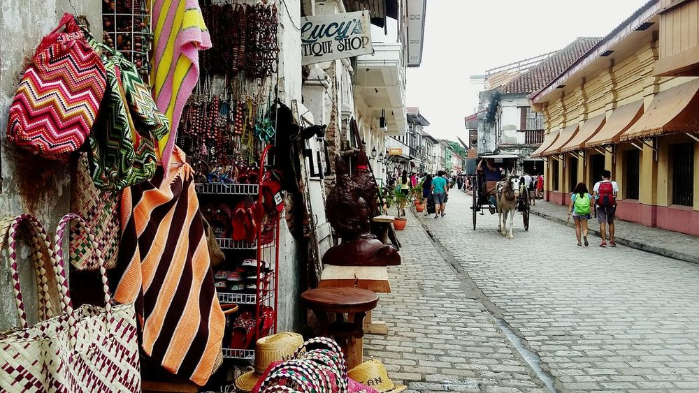 Landmark. Tourist Destination Philippines Enjoying Life Relaxing Visitthis Cities At Night Vigan Philippines Followme