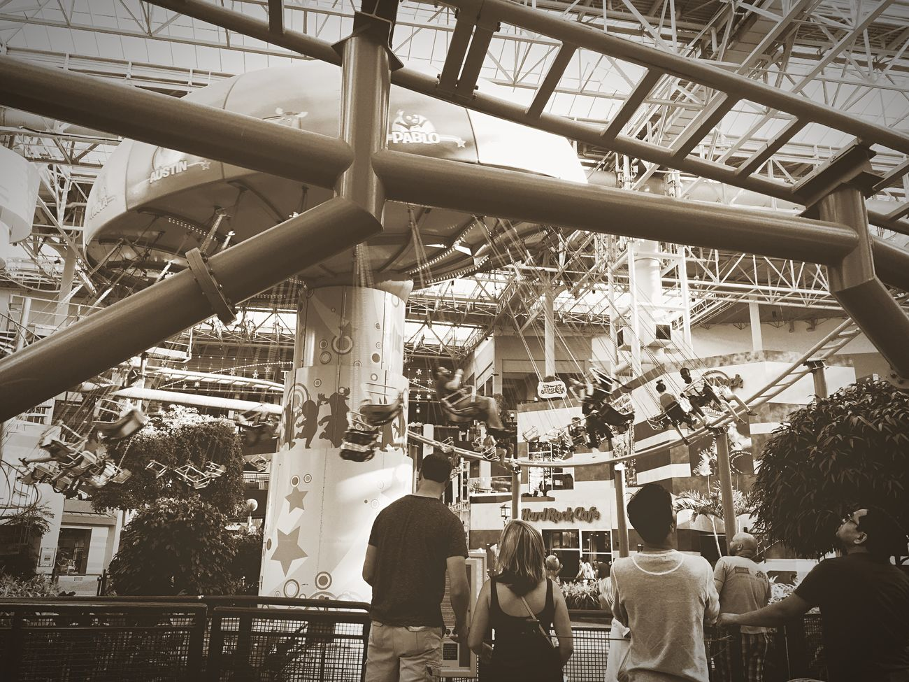 Fun Old School Mall Of America Family