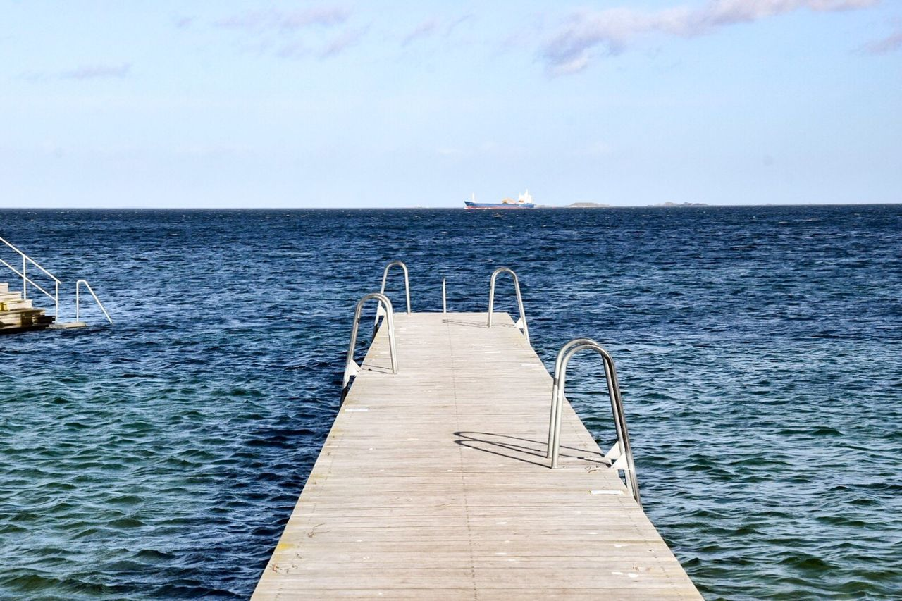 Sea Water Horizon Over Water Sky Nature Scenics Beauty In Nature No People Day Outdoors Tranquility Copenhagen Denmark Amager Ocean