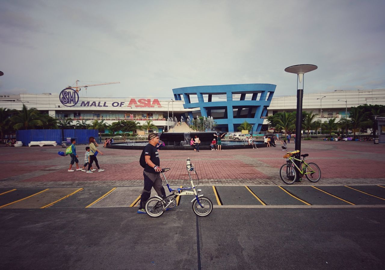 CyclingUnites Person Outdoors Adult People And Places Eyeem Philippines Manila Philippines Mall Of Asia BikeRides EyeEm Best Shots Street Streetphotography