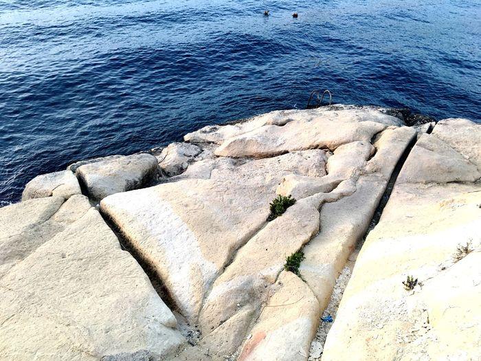 Maltese Seaside Malta Sea Seaside Stone Beach Malta♥ Sea In Valletta Valletta