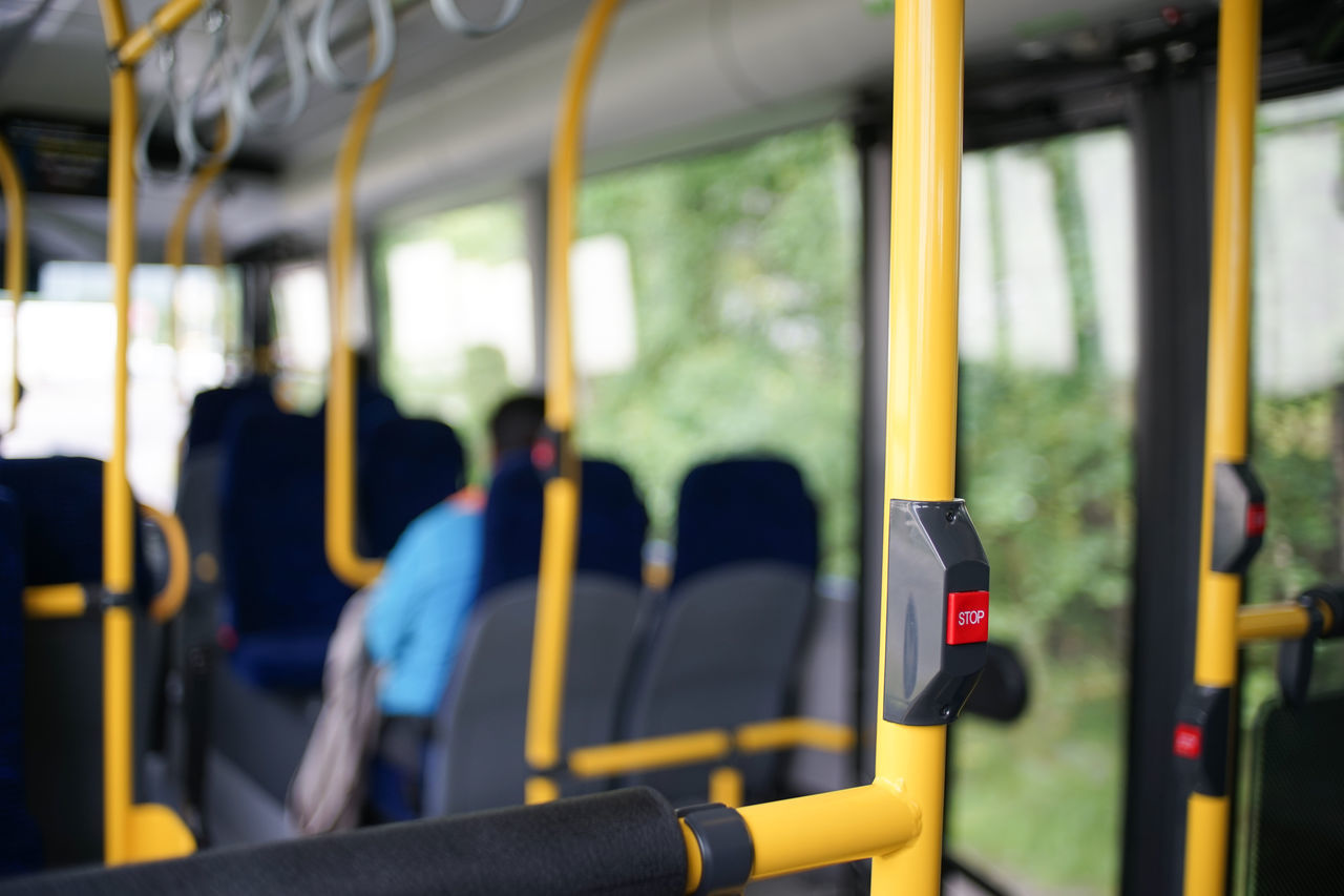 Took the bus through the ghetto today. Could not wait to get to my destination and hit that stop button lol Blue Jacket Bokeh Bus Bus Interior Farte Ghetto Inside A Bus LOL Norway Norway🇳🇴 Passenger Passengers Perspective Red Stop Button Scary Ride Shallow Depth Of Field Stop Stop Button Vehicle Interior Yellow