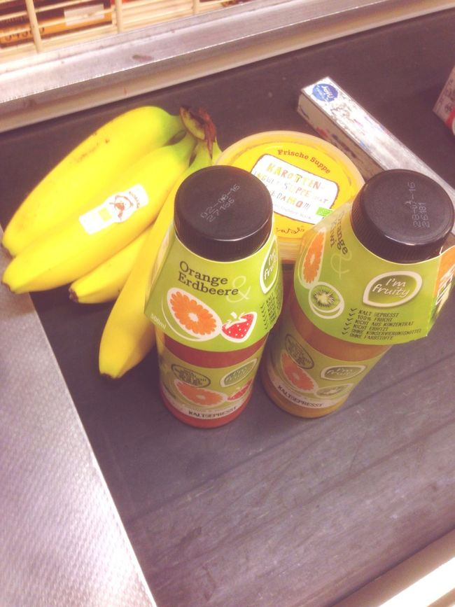 Healthy Eating Healthy Food Bananas Yellow Juice Supermarket Healthy Freshness