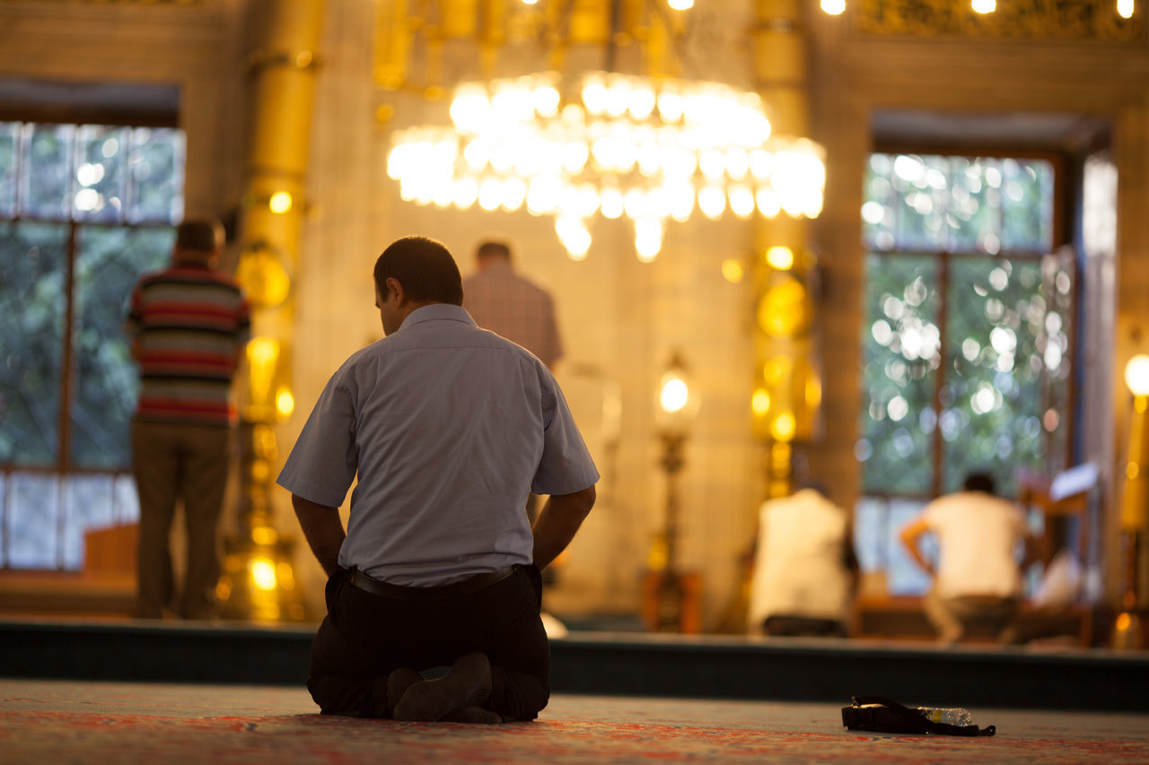 Beautiful stock photos of prayer, Full Length, Incidental People, Kneeling, Night