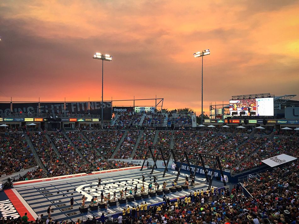 Crossfit Crossfit Games Crossfitgames Stubhubcenter Sunset Sky