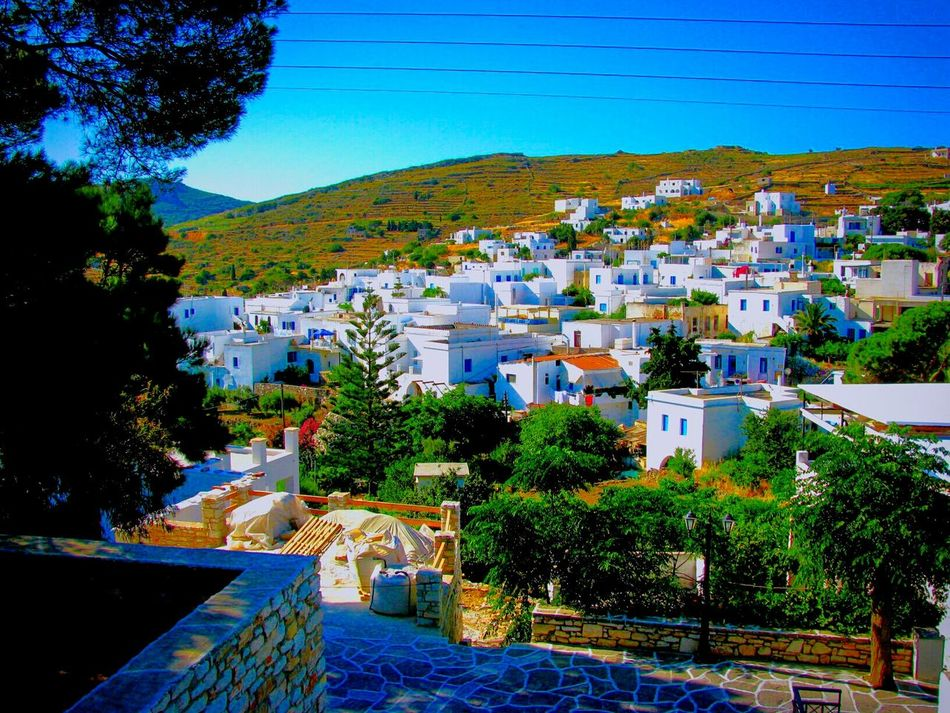 Q Quiet Places Village Houses A Moment Of Zen... Peace And Quiet Tranquility Lefkes Paros Island Greek Islands No People Showcase March Landscape Summer Memories 🌄 Summer Views Traditional Village Traditional Picturesque Tranquil Scene Landscapes With WhiteWall Blue Wave Landscapes