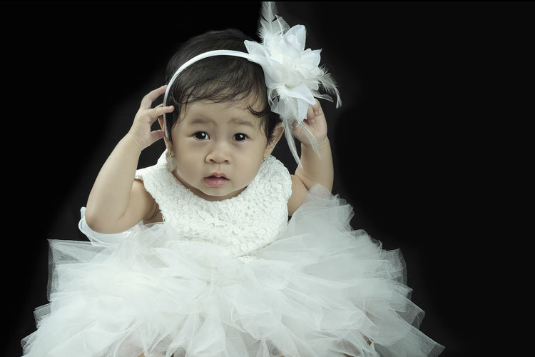 Portrait Child Studio Shot