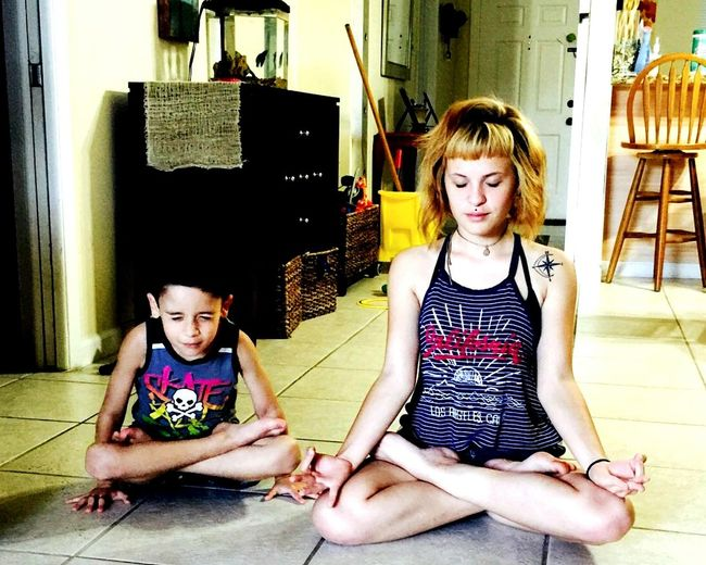 Meditation time! Nephewlove Meditation